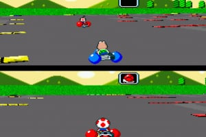 Super Mario Kart Screenshot