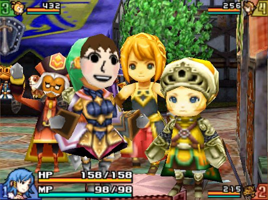 Final Fantasy Crystal Chronicles: Echoes of Time Screenshot