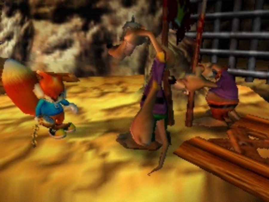 Conker's Bad Fur Day Screenshot