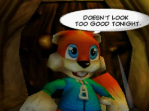 Conker's Bad Fur Day Review - Screenshot 1 of 4