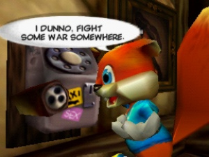 Conker's Bad Fur Day Review - Screenshot 1 of 5