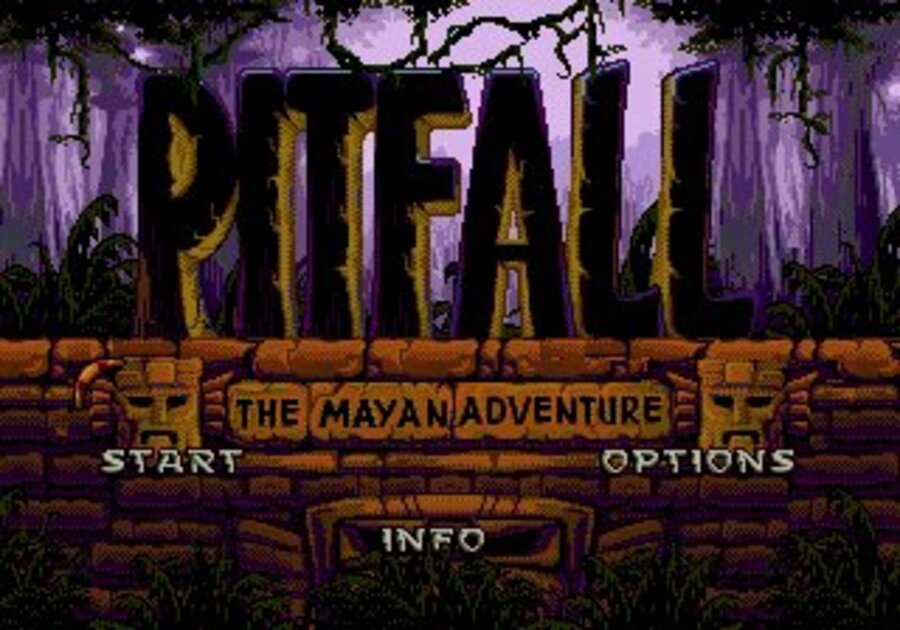Pitfall: The Mayan Adventure Screenshot