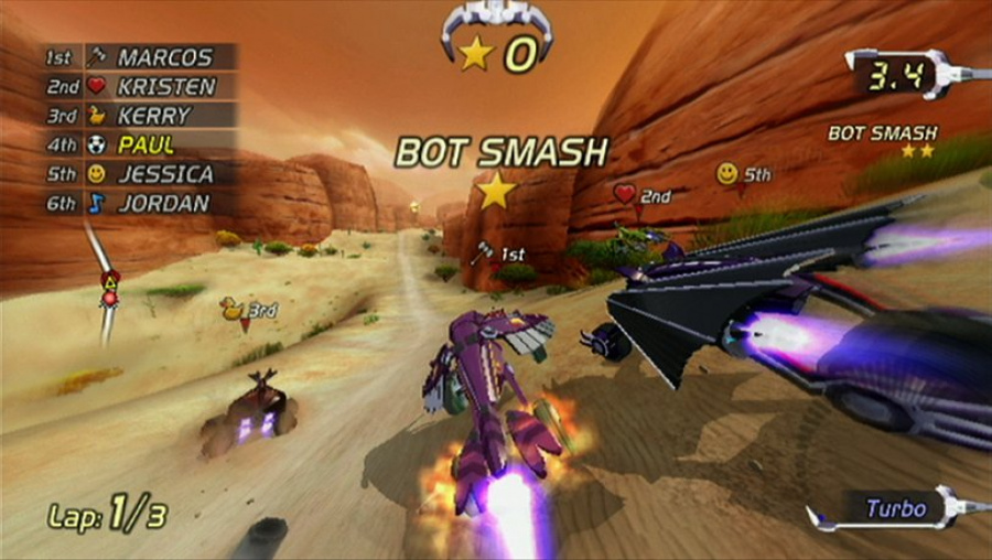 Excitebots: Trick Racing Review - Screenshot 3 of 5