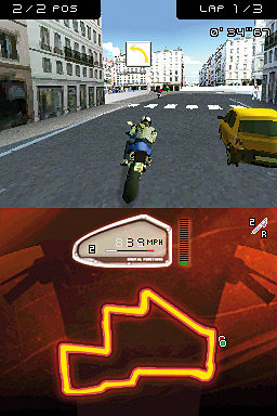 Moto Racer DS Screenshot