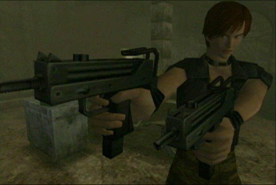 Resident Evil Code: Veronica X Screenshot