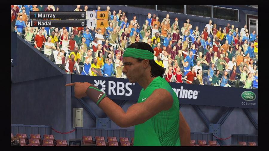 Virtua Tennis 2009 Review - Screenshot 1 of 5