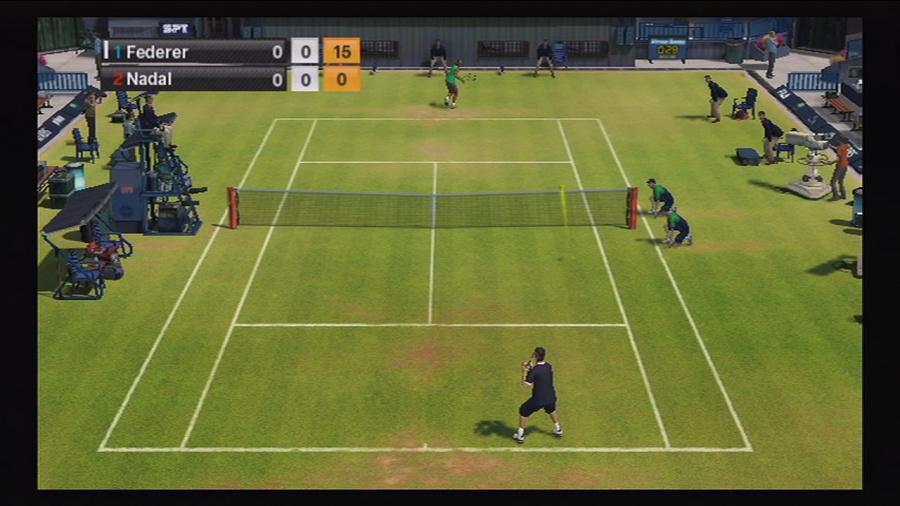 Virtua Tennis 2009 Review - Screenshot 5 of 6