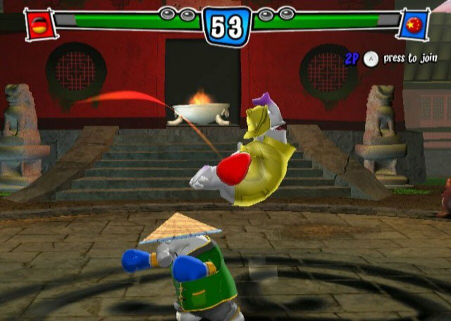 Karate Phants: Gloves of Glory Screenshot
