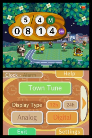 Animal Crossing Clock Review - Screenshot 1 of 2