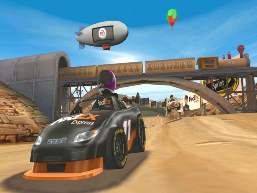 NASCAR Kart Racing Review - Screenshot 2 of 4