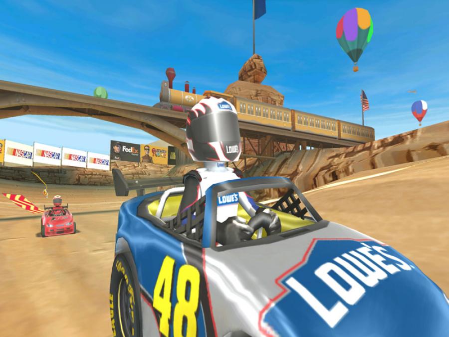 NASCAR Kart Racing Review - Screenshot 4 of 4