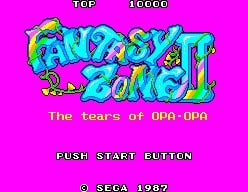 Fantasy Zone II Screenshot