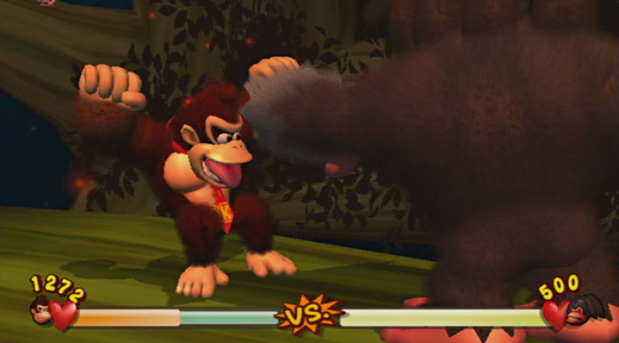 New Play Control! Donkey Kong Jungle Beat Review - Screenshot 2 of 4