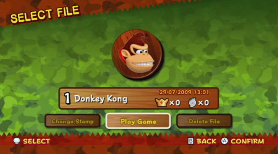 New Play Control! Donkey Kong Jungle Beat Review - Screenshot 1 of 4