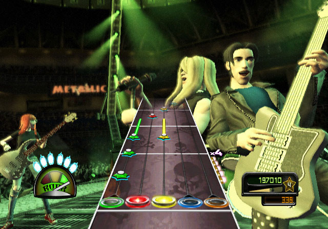 guitar hero metallica wii screenshots. Black Bedroom Furniture Sets. Home Design Ideas