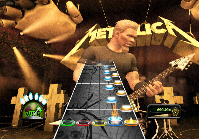 Guitar Hero Metallica Screenshot