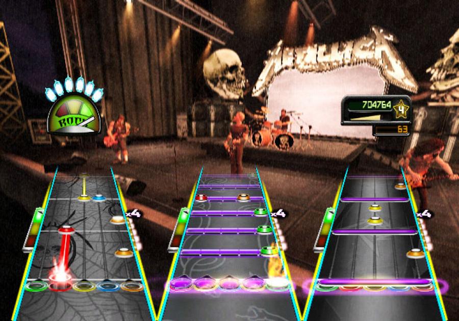 Guitar Hero Metallica Review - Screenshot 3 of 4