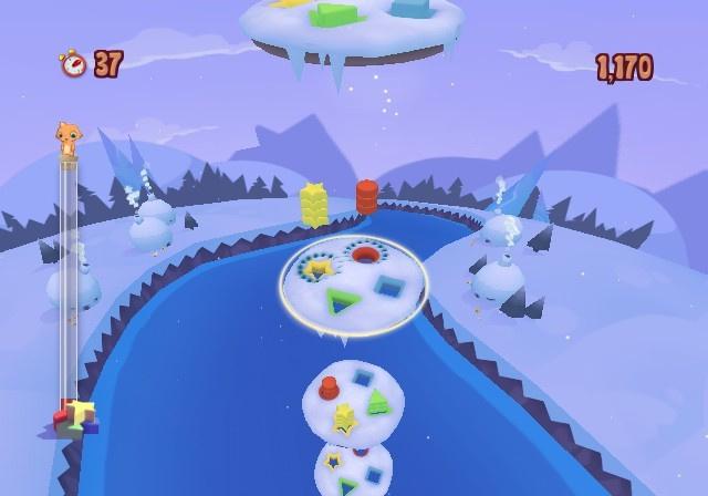 Roogoo Twisted Towers Screenshot