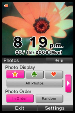 Photo Clock Review - Screenshot 1 of 2