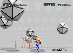 Space Harrier Review - Screenshot 1 of 3