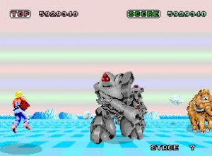 Space Harrier Review - Screenshot 3 of 3