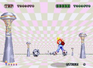 Space Harrier Review - Screenshot 2 of 3