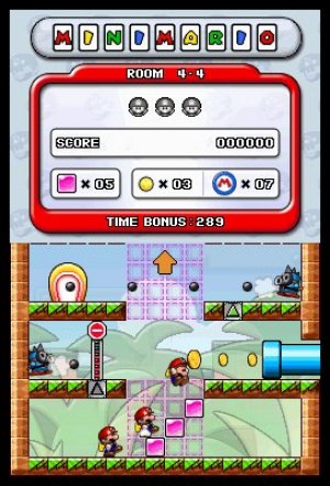Mario vs. Donkey Kong: Minis March Again! Review - Screenshot 2 of 3