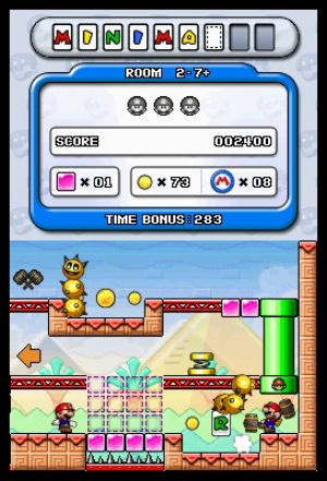 Mario vs. Donkey Kong: Minis March Again! Review - Screenshot 2 of 3