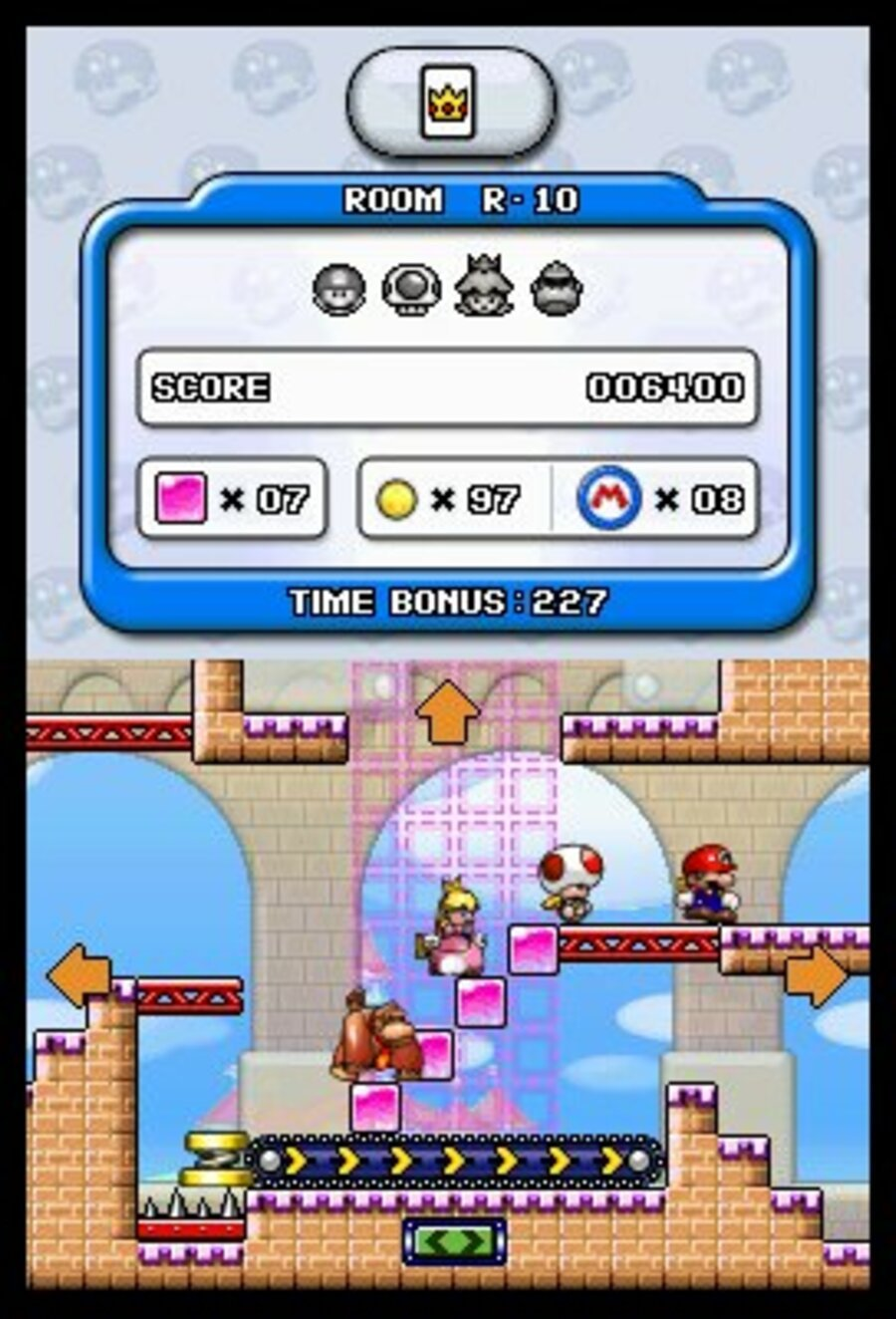 Mario vs. Donkey Kong: Minis March Again! Screenshot
