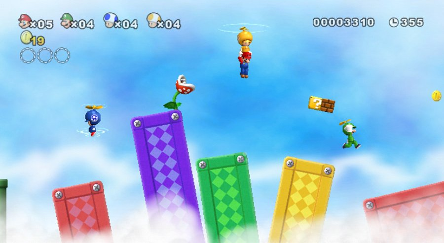 New Super Mario Bros. Wii Review - Screenshot 2 of 5