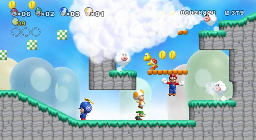 New Super Mario Bros. Wii Review - Screenshot 4 of 5