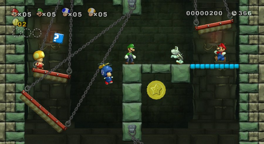 New Super Mario Bros. Wii Review - Screenshot 3 of 5