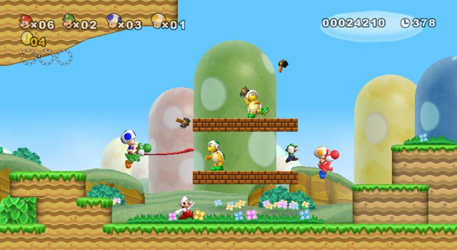 New Super Mario Bros. Wii Review - Screenshot 3 of 5