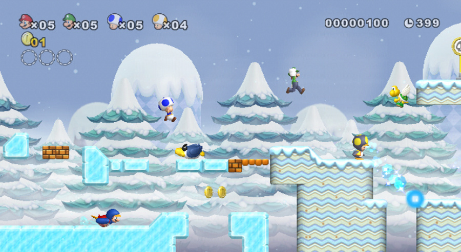 New Super Mario Bros. Wii Review - Screenshot 1 of 5