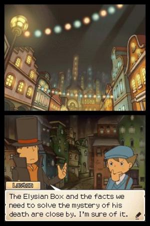Professor Layton and Pandora's Box Review - Screenshot 4 of 4