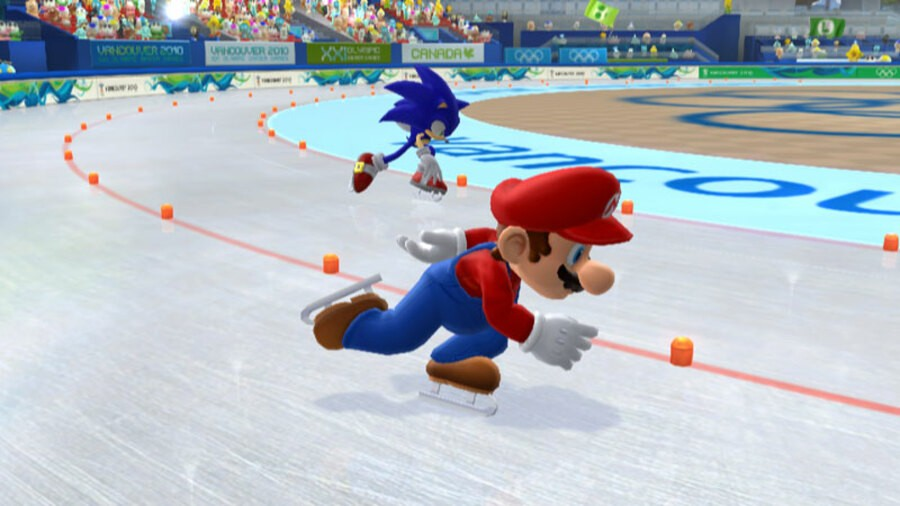 Mario & Sonic at the Olympic Winter Games Screenshot
