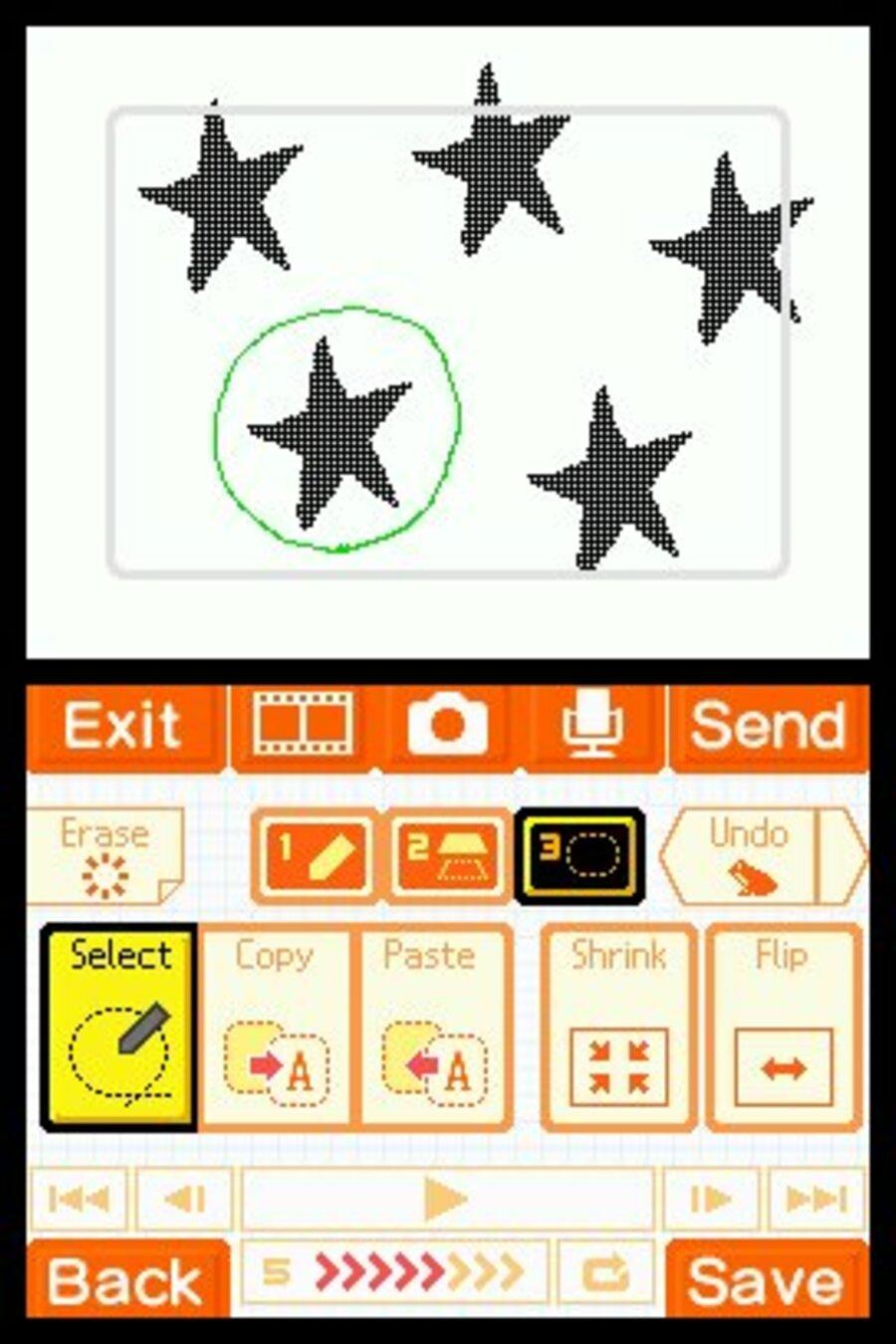 Flipnote Studio Screenshot