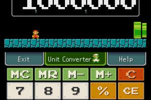 Mario Calculator Screenshot