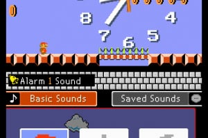 Mario Clock Screenshot