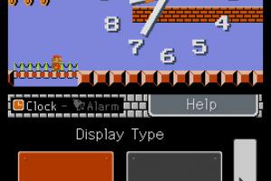 Mario Clock Screenshot