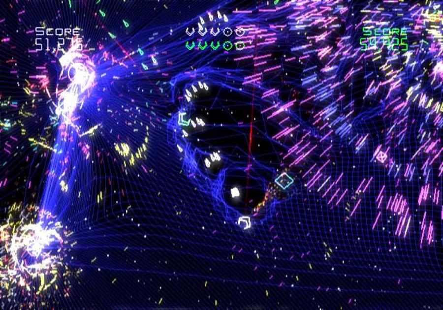 Geometry Wars Galaxies Review - Screenshot 1 of 4