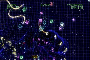 Geometry Wars Galaxies Screenshot
