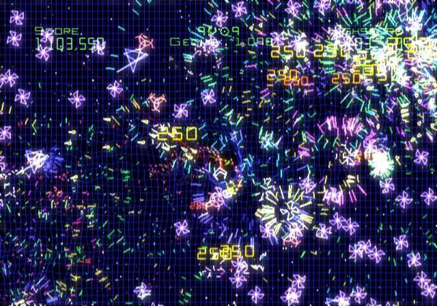 Geometry Wars Galaxies Review - Screenshot 4 of 4