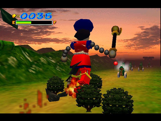 Mystical Ninja Starring Goemon Screenshot