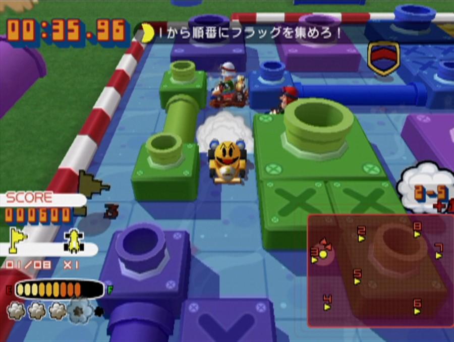 Namco Museum Remix Screenshot