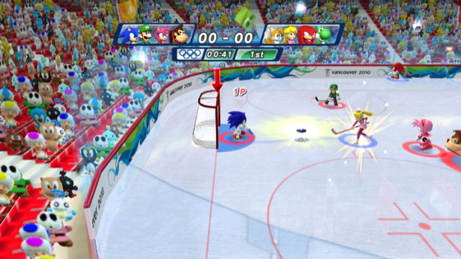 Mario & Sonic at the Olympic Winter Games Review - Screenshot 4 of 6