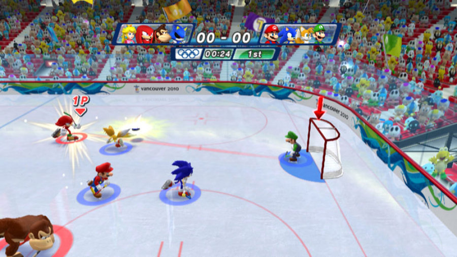 Mario & Sonic at the Olympic Winter Games Review - Screenshot 7 of 7