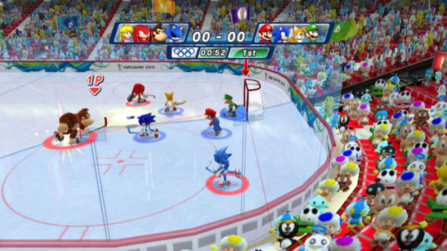 Mario & Sonic at the Olympic Winter Games Review - Screenshot 1 of 7