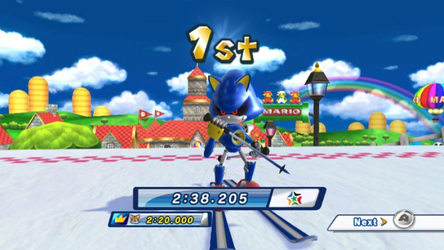 Mario & Sonic at the Olympic Winter Games Review - Screenshot 6 of 7
