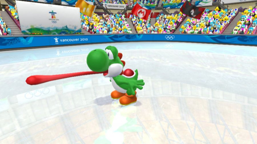 Mario & Sonic at the Olympic Winter Games Review - Screenshot 2 of 6